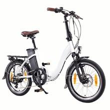 Сгъваемо електрическо колело  Basic 20 | бял