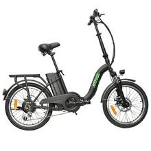 Сгъваемо електрическо колело CityBike 20 | черен