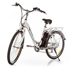 Градски електрически велосипед 2806 бял