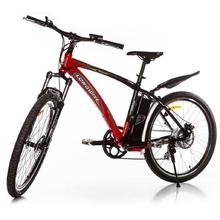 Планински електрически велосипед Longwise Fashion червен